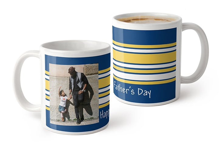 Father's Day Photo Mug