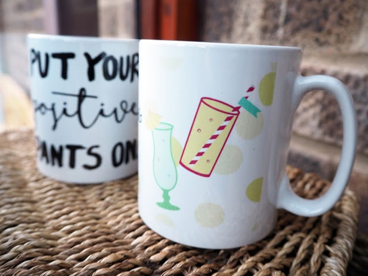 Creating Mugs with Snapfish