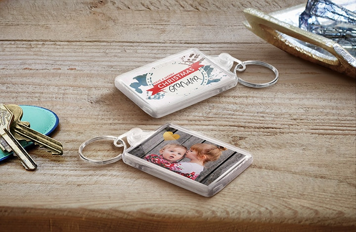 Stocking Stuffers - Acrylic Keyring