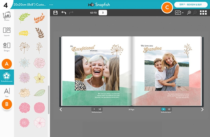 4-Step Photo book builder guide
