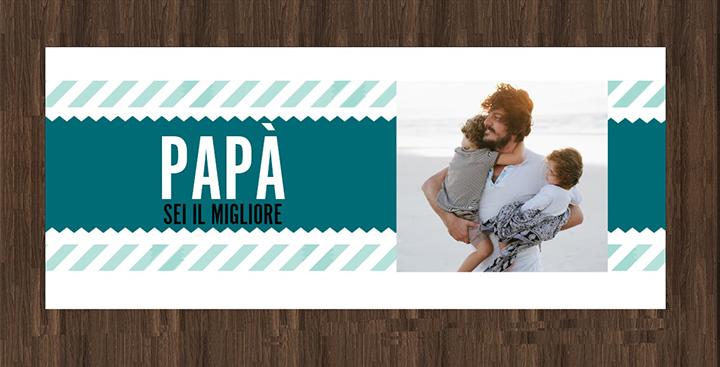 Crea la tua tazza di design per la festa del papà