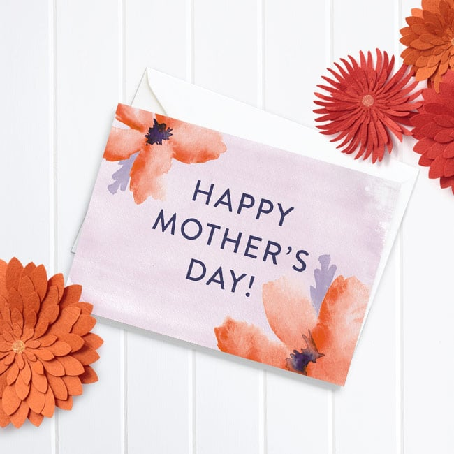 Watercolor Mother's Day - Mother's Day cards