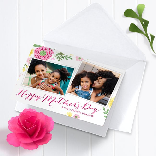 Colorful Flowers - Mother's Day cards