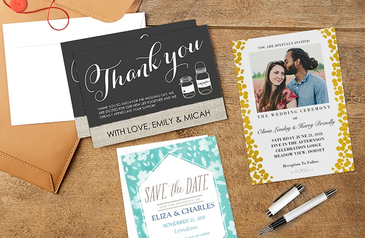 Ultimate personalised cards guide for your Wedding!