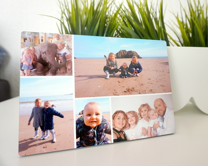 Personalised Father's Day Gifts -Personalised Photo Panel