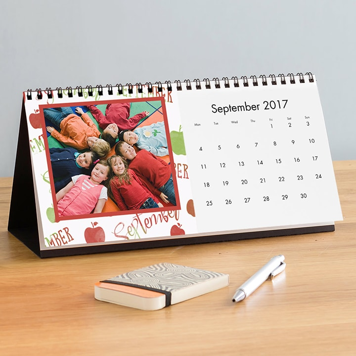 Last Minute Personalised Thank you Gifts for Teachers - Desk Calendar