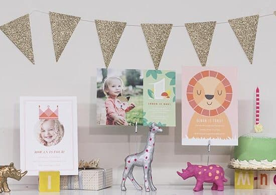 Se the stage for virtual birthday parties with personalised gifts & cards
