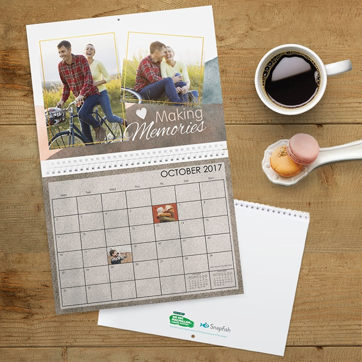 Personalised calendars, the gift that gives all year long!