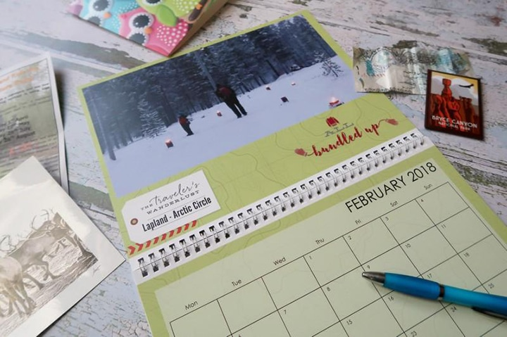 Make 2018 an organised year with Personalised Calendars!