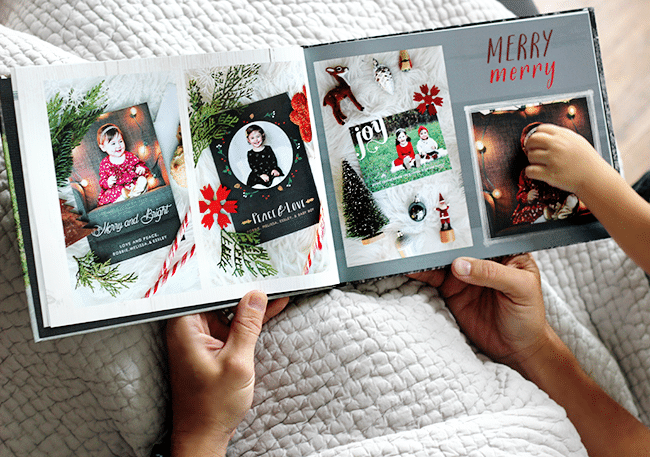 4 Time-Saving Tips for Christmas Photo Book Gifts