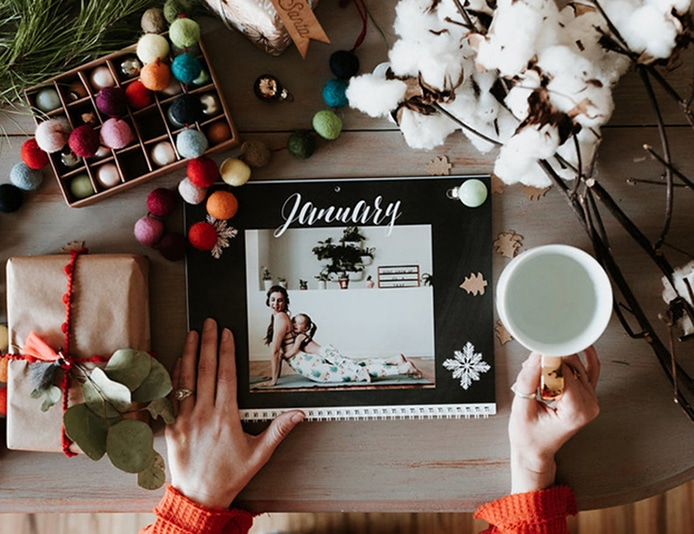 Beautiful Photo Calendar Designs for Christmas Gifting!
