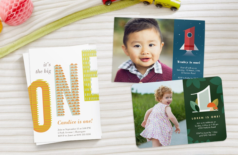 Fun Personalised Party Invitations for Kids