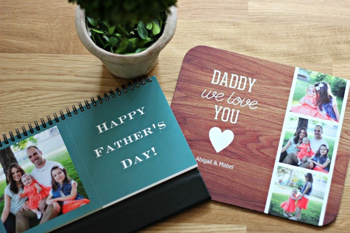 7 Sweet and Simple Father's Day Photo Gifts