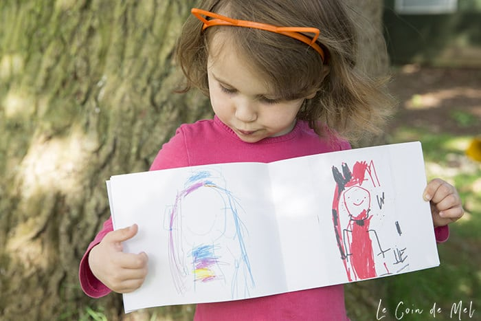 Creating Kids Art Photo Books With Le Coin De Mel