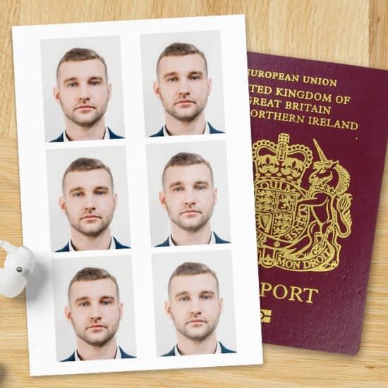 Tips on how to take UK passport photos