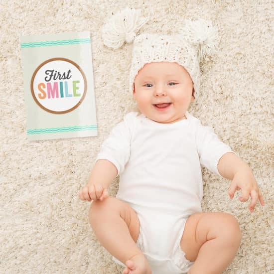 Baby Milestone Card Tips