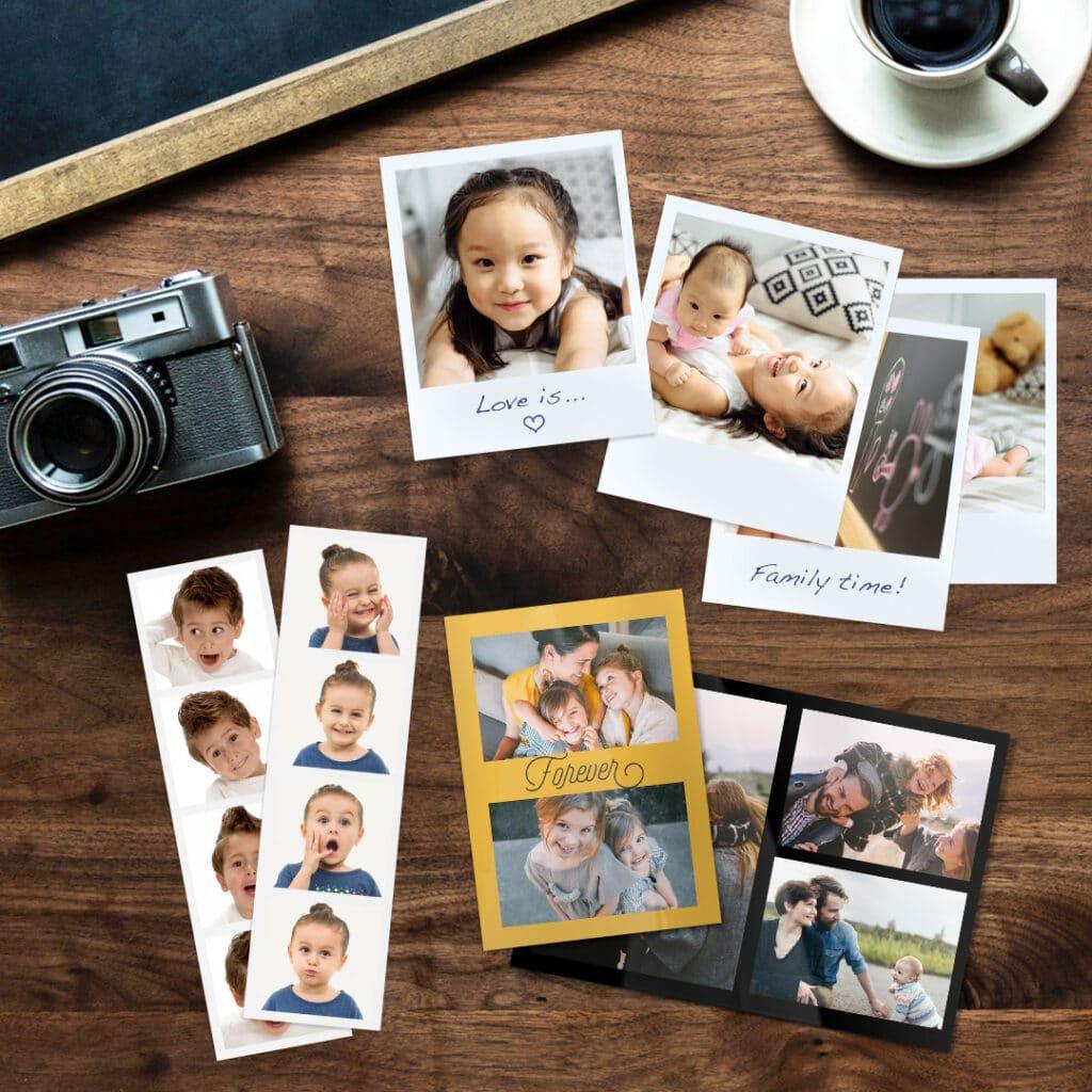 prints, collage prints, retro prints
