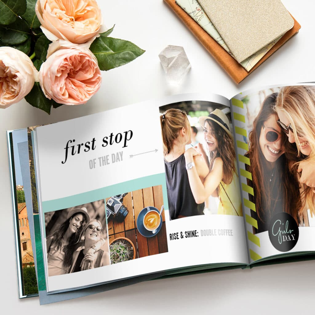 Photo books are fully customisable and are made up of digitally printed photos