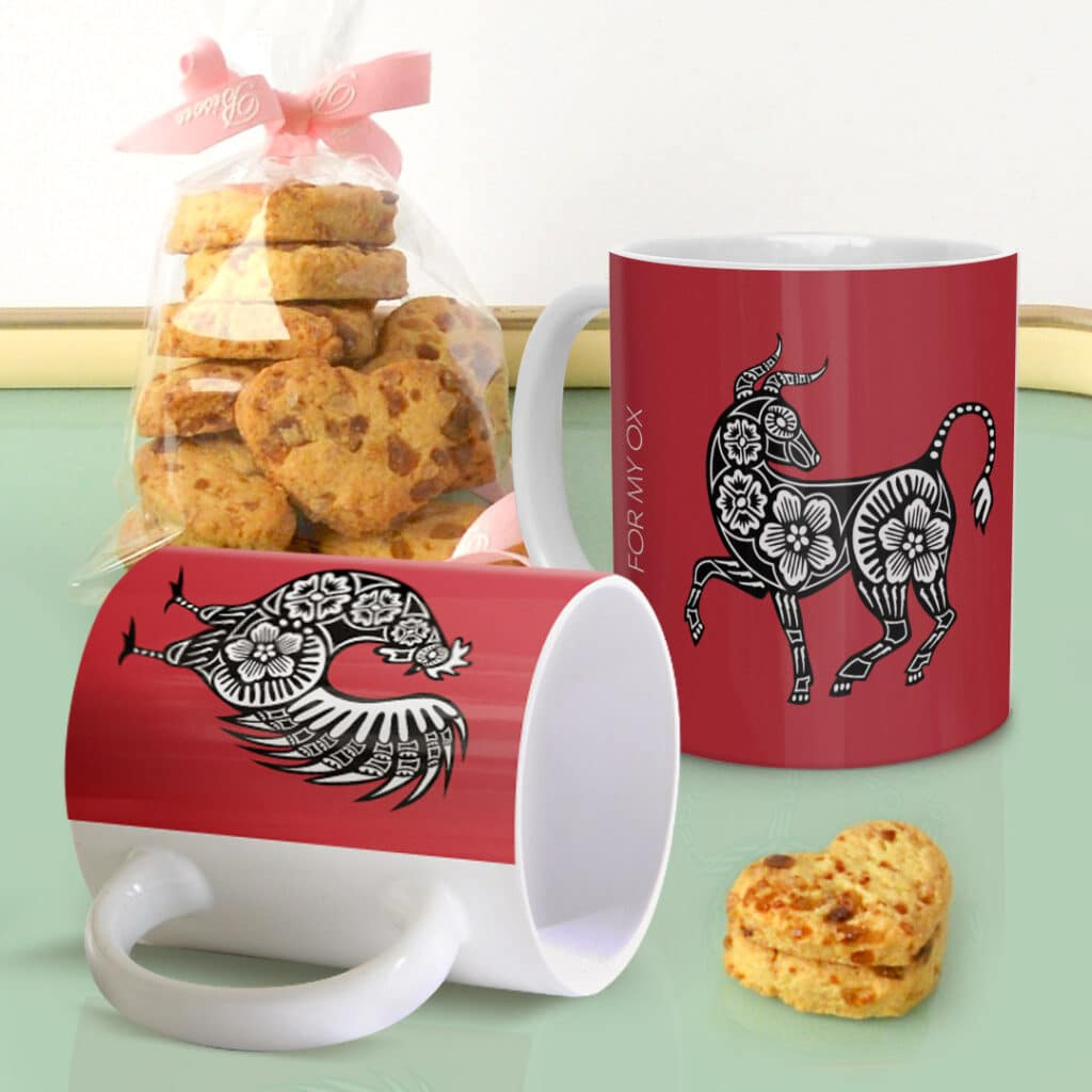 Create a custom Zodiac mug for you and your loved ones