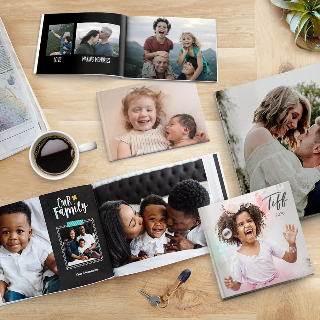 """Photo Books come in an array of sizes from 6x4"""" to A3"""
