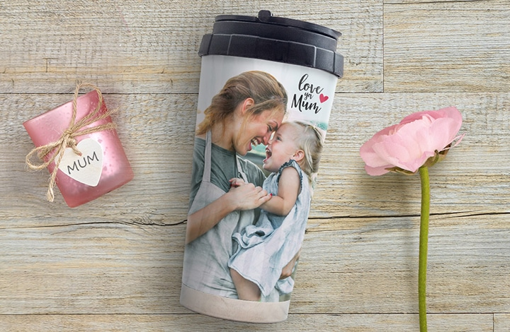 Customised travel cups