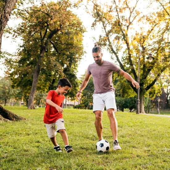 Capture a photo of people playing sport for our photo scanvenger hunt challenge this summer