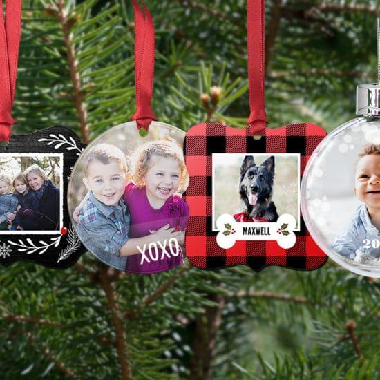 Customised christmas tree ornaments