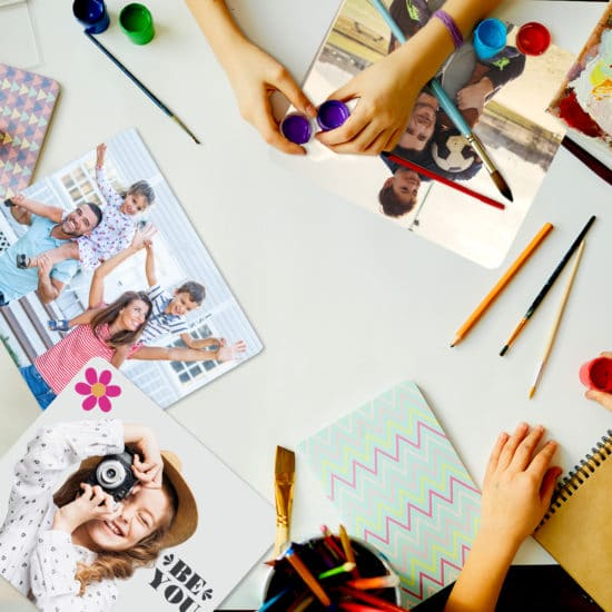 Creative tips for using photo prints and personalised gifts