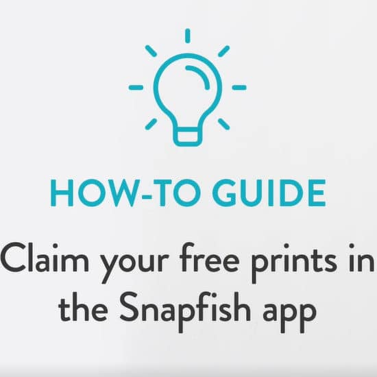 Learn how to get 50 free photo prints a month