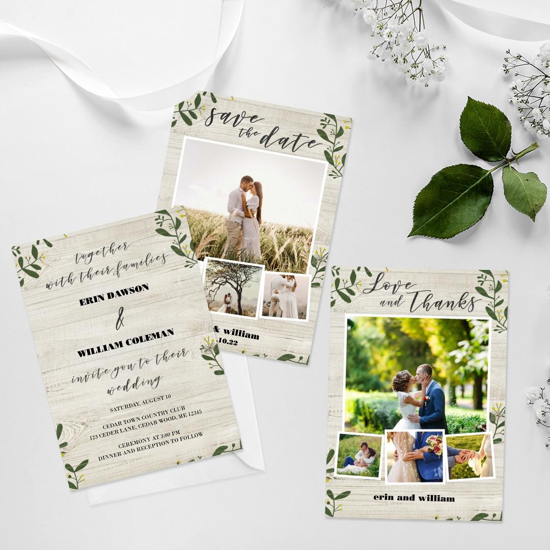 Customise Wedding Cards With Snapfish Online